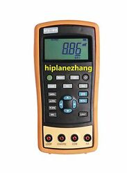 Hi-accuracy 0.05 Current And Voltage Process Calibrator With Frequency Source
