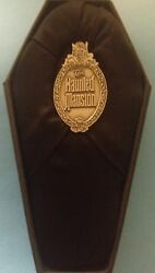 Disney 30th Haunted Mansion 1969-1999 Ghost Plaque Dl Event Pin And Coffin Box New