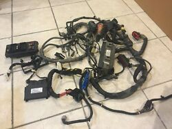 06 07 08 09 Jeep Grand Cherokee Complete Wiring Harness W/fuse Boxes