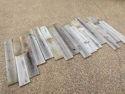 Reclaimed Old Fence Wood Boards 36 Weathered Barn Wood 25 Planks Wainscoting