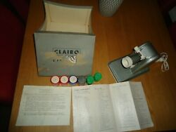 The Clairo Projector, Magic Lantern And Slide Projector