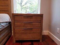 King Bed Frame, Two Night Stands And One Dresser In Excellent Condition.