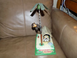 Mischief Monkey Tin Battery Operated Toy. It Works