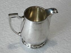 Rare Vintage Christofle France Silverplate Milk/cream Pitcher 40and039s