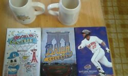 Two Brooklyn Cyclones Beer Steins Sga + All 3 Editions Of 2017 Program
