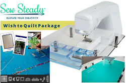 Sew Steady Wish To Quilt Table Package For Baby Lock Sofia - Made In Usa