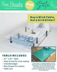 Juki Sewing Machine Sew Steady Ultimate Wish Extension Table Package