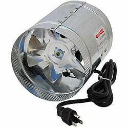 GYO2402 6-Inch CFM Air Duct Inline Hydroponic Booster Fan Ducting Components