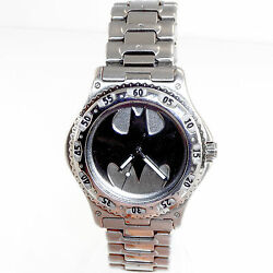 Lady Batman Fossil Warner Bros Studio Store Stainless Steel Watch Rare Only 179