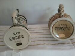 Lidded German Beer-stein Style Collectible Made Exclusively For Avon