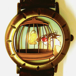 Tweety Bird And Sylvester The Cat, Fossil Warner Bros Collectible Watch Just 79