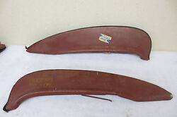 Nos 1960 Edsel All 1960 Ford All Models Steel Foxcraft Accessory Fender Skirts