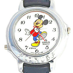 Mickey Musical Disney Unworn Silver Watch Plays Leader Of The Band And039rtr009and039 109