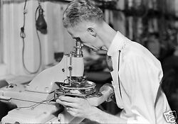 1936 Photo At Hamilton Watch Company In Lancaster Pa - 8 By 10