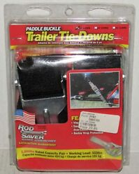 New Rod Saver Marine Accessories Paddle Buckle Trailer Tie Downs Part No. 2pb2