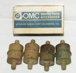 New Omc Outboard Marine Corp Boat Rubber Mount Lot Of 4 Part No. 303880