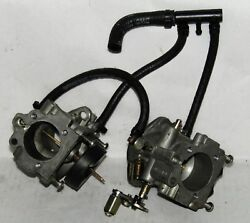 Omc Outboard Marine Corp Boat Two Carburetor Assembly Part No. 432439
