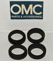 New Omc Outboard Marine Corp Boat Water Tube Grommet Lot Of 4 Part No. 317844