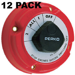 12 Pack Seachoice 11500 Battery Select Switch 4 Postion No Lock 5-1/4 Lc
