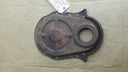 Used Oem Bbc 396 427 Chevy Timing Cover Fits 7 1/16 3860080 Balancer