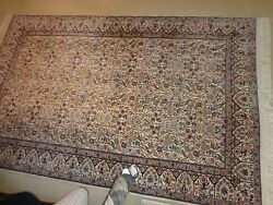 Carpet Wool And Silk Hand Knotted Naein 6 La4and0393 X 6and039.9