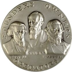 Pony Express Founders Silver Medal 57mm. K2922