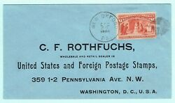 1898 Us 1 Columbian 241 On Cover New Oxford Pa