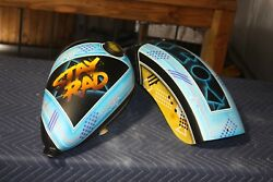 Custom Paint On Your Parts Chopper Fxr Softail Tank Fender Airbrushing Dyna