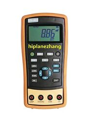 Hi-accuracy 0.02 Current And Voltage Process Calibrator With Frequency Source