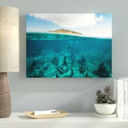Ebern Designs 'Meditation and Calming (40)' Photographic Print on Canvas