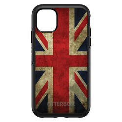 Otterbox Symmetry For Apple Iphone Pick Model - Red Whte Blue British Flag Old
