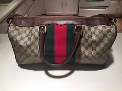 Authentic Vintage Luggage Carry-on Bag