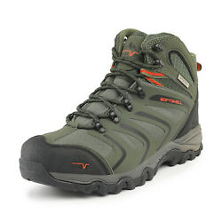 NORTIV 8 Mens Waterproof Hiking Boots Backpacking Lightweight Outdoor Work Boots $40.66
