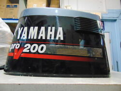 Yamaha 150-200 Hp 91and039-93and039 Pro-v Outboard Motor Cowling - Stk9095