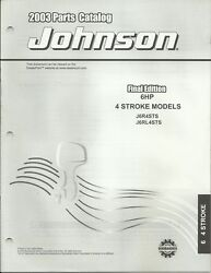 Johnson Outboards 6 Hp 4 Stroke Models 2003 Parts Catalog P/n 5005158