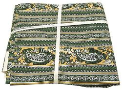 Les Olivades French Country Paisley Fabric Upholstery/tablecloth/pillowcases