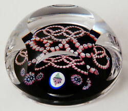 1976 Whitefriars Crystal Paperweight - Olympic Games Montreal Canada