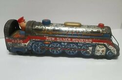 Vtg New Silver Mountain 4230 Tin Train Battery Operated 1969 25off Collectible