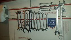 Williams Superwrench 17 Pc Sae Lot Some Craftsman Martin Wrenchs Lot