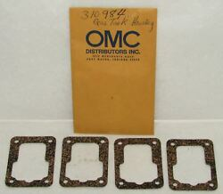 New Omc Outboard Marine Corp Housing To Tank Gasket Lot Of 4 Part No. 310984