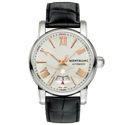 Star Watch 105858 Automatic Silver Dial Pink Indices