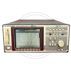 Rohde And Schwarz Vsa Video Measurement System 2013.6057.03