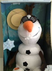 Frozen Olaf Disney Store Fully Animated Talk And Sing 11 Nrfb New