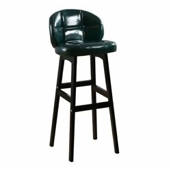 Leather Bar Dining Chair Commercial Minimalist Modern Kitchen Home Seat Fixtures