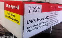 Brand New Honeywell Lynx Touch L5100 Control Panel, Battery, And Transformer
