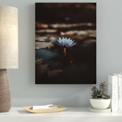 Ebern Designs 'Meditation and Calming (6)' Photographic Print on Canvas