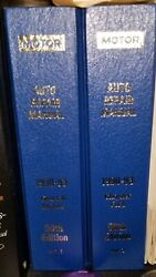Motor Auto Repair Manuals Gm/chrysler/ford 56th Edition Vols.1 And 2 1990-1993