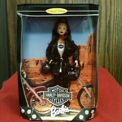Barbie Harley Davidson Motor Cycles Collector Edition Doll 1998 New In Box