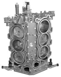 Remanufactured W/new Block Yamaha 225 Hp 4-stroke Outboard Short Block 2004 And Up