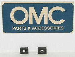 New Omc Outboard Marine Corp Boat Water Tube Grommet Lot Of 2 Part No. 310258